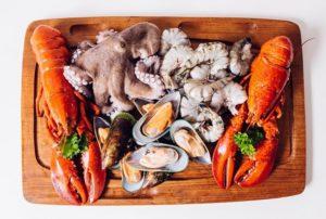 Морепродукты в заливке польза и вред. Вред морепродуктов для здоровья человека