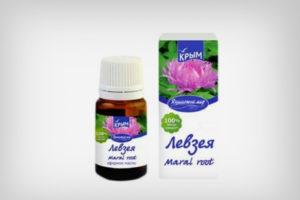 Эфирное масло левзеи: описание аромата, свойства, применение, отзывы