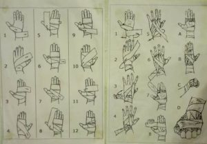 Как заматывать кисть эластичным бинтом. Как правильно бинтовать руки боксерскими бинтами. Метод профессиональных боксеров