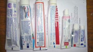Цветные обозначения на тюбиках зубной пасты. Что означают цветные полоски на тюбиках зубных паст и кремов. Гост и разноцветные полоски