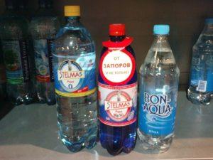 Поможет ли минеральная вода от запоров
