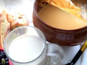 Топленое молоко в домашних условиях, польза и вред, калорийность. Топленое молоко польза и вред. Состав, принцип приготовления. Калорийность