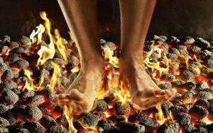 Ступни горят огнем что делать. Когда пятки горят