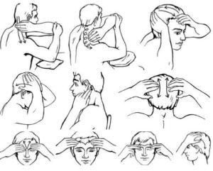 Массаж головы новорожденным. Как делать массаж головы: пошаговая инструкция в картинках