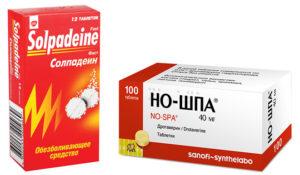Применение таблеток но-шпа при месячных. О боли внизу живота во время месячных