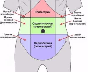 Чувство жжения в эпигастрии. Эпигастральная область: где находится и симптомом каких заболеваний являются боли в этом участке. Жжение в желудке: основные причины