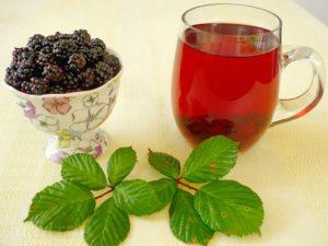 Листья ежевики: полезные свойства и противопоказания. Когда собирать листья ежевики и как сушить для чая. Польза ягод ежевики для здоровья