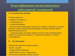 Причины и лечение воспалительных процессов в гинекологии. Лечение и профилактика гинекологических воспалительных заболеваний