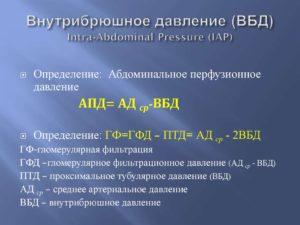 Что такое внутрибрюшное давление? Повышенное внутрибрюшное давление как фактор риска