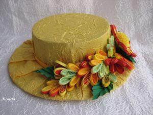 Украшение шляпы для праздника осени. Осенняя шляпа своими руками из разных материалов