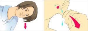 Как извлечь воду из уха