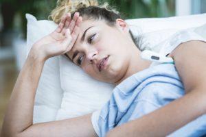 Почему после орви слабость и потливость. Холодный пот без температуры