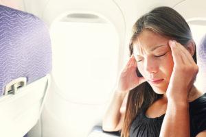 Как предотвратить появление головных болей после авиаперелета. Тошнота и головокружение после перелета