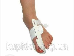 Бандаж от косточки на ноге: какой выбрать? Бандаж для пальцев стопы: показания и особенности Ночные ортопедические бандажи для большого пальца ноги