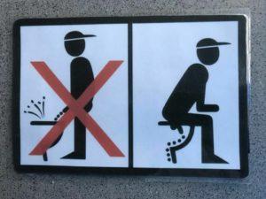 Почему не стоит писать сидя. Можно ли писать сидя мужчинам