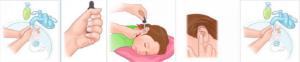 Эффективные капли в ухо — виды и как их правильно закапать взрослым и детям. Как закапать капли в уши ребенку: алгоритм действий