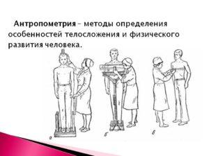 Краткие правила антропометрических измерений. Алгоритм измерения роста и веса пациента