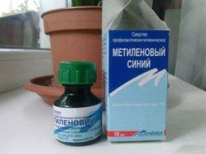 Мазь метиленовый синий. Раствор сини метиленовой: инструкция по применению медицинской синьки от стоматита у детей и взрослых. Препарат используется в