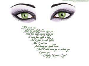 Цитаты про зеленые глаза. Статусы про глаза зеленые