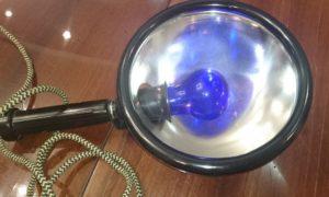 Советская лампа для прогревания. Синяя лампа для прогревания — как использовать прибор