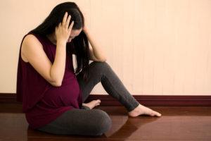 Предродовая депрессия беременных: как победить зеленую тоску? Предродовая депрессия