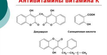 Антивитамины. Витамины и антивитамины