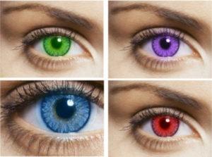 Как сделать глаза темнее. Как изменить цвет глаз