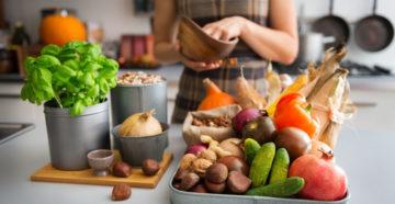 Осеннее питание, какие витаминные продукты должны быть в рационе. Какие продукты есть осенью, чтобы худеть