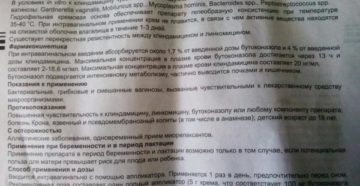 Для чего назначают Клиндацин во время беременности. Свечи и крем Клиндацин при беременности: инструкция по применению. Клиндацин крем - официальная* инструкция по применению