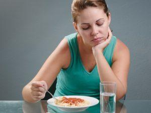 Почему нету аппетита. Отсутствие аппетита